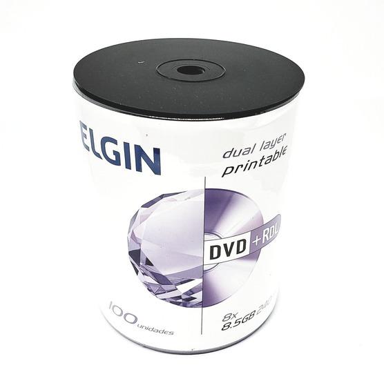 100 Dual Elgin Printable 8,5gb Umedisc (nao Grava Jogos)