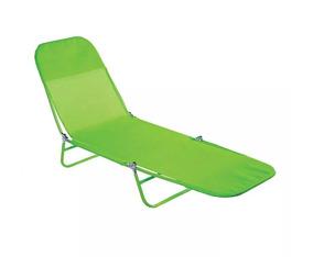 Cadeira Espreguiçadeira Textilene Fashion Verde - Mor