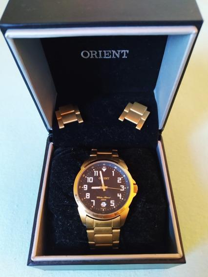 Relógio Orient Dourado A Prova D