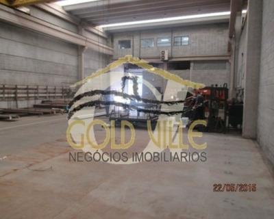 Galpão Industrial Para Locação, Polo Industrial, Itapevi - Ga0833. - Ga0833