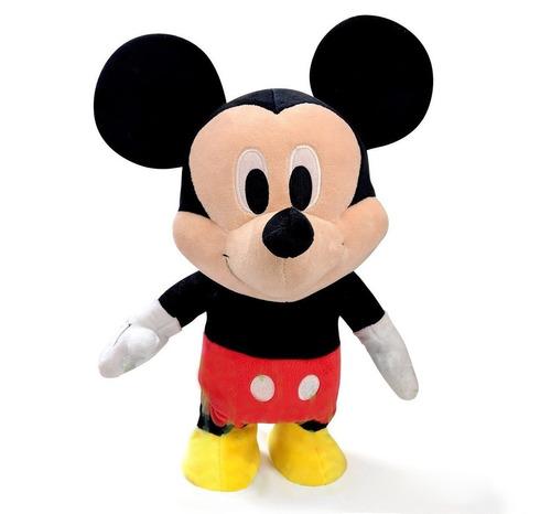 Imagen 1 de 6 de Peluche Mickey Minnie Muñeco Interactivo Camina Disney 35cm