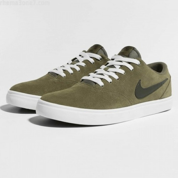 Tênis Nike Sb Check Solar Verde Medium Olive 843895-200