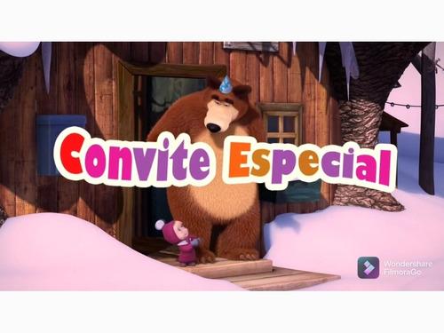 Imagem 1 de 5 de Convite Animado Para Aniversário
