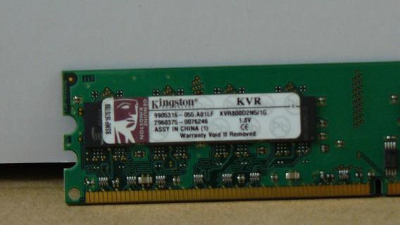Memoria Kingston 1gb Kvr800d2n5/1g 1,8v
