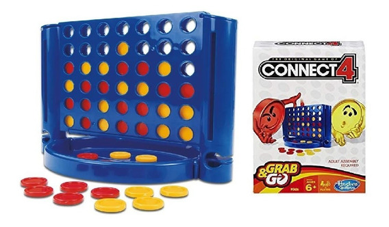 Jogo Connect 4 Grab & Go Hasbro