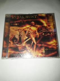 Cd Royal Hunt - Paper Blood - Novo/lacrado