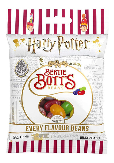 2 Caixas De Feijão Mágico Harry Potter Jelly Belly Feijões