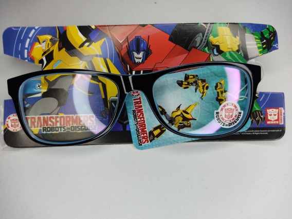 Lentes De Armazón Marca Transformers
