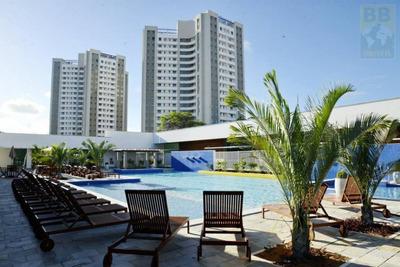 Apartamento Para Venda Em Natal, Ponta Negra, 3 Dormitórios, 2 Suítes, 4 Banheiros, 2 Vagas - Villa Park Cobertura