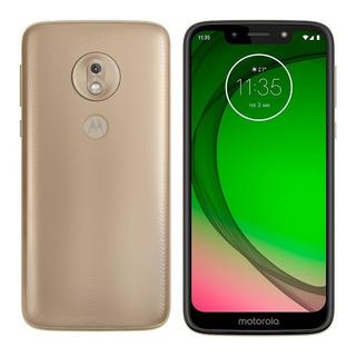 Smartphone Motorola Moto G7 Play Ouro, Tela 5,7 , 32gb