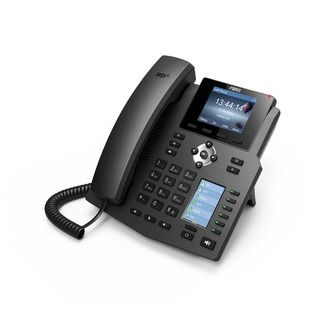 Teléfono Ip Empresarial Fanvil X4g, 4 Líneas Sip, Poe