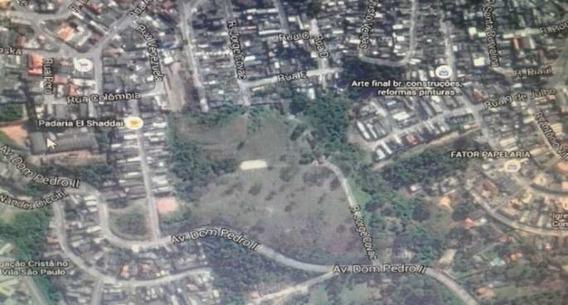 Área Em Ferraz De Vasconcelos Com 12.698 M² Para Mcmv!!! - Mv5287