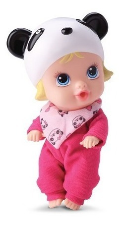 Boneca Little Dolls Collection Soninho Panda Faz Xixi