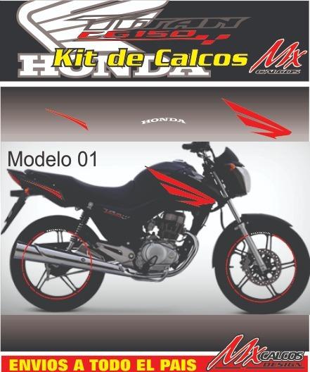 Calcos Cg New Titan 150 (alas Simil Twister)