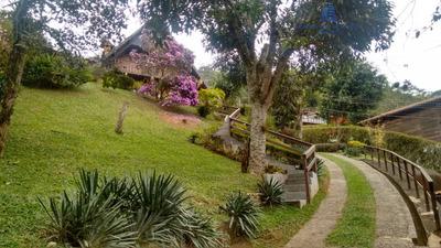 Casa A Venda No Bairro Itaipava Em Petrópolis - Rj. - Ca 0339-1