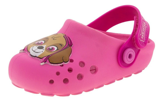 Clog Infantil Baby Patrulha Canina Rosa Grendene Kids - 2171