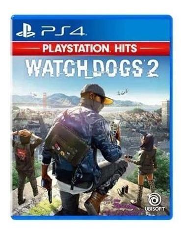 Watch Dogs 2 - Ps4 Mídia Física
