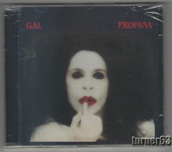 Cd *** Gal Costa *** Profana (1984) Orig Imp Nuevo Sellado
