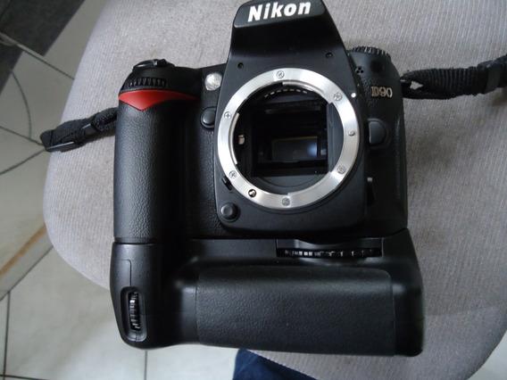 Nikon D 90 +grip -corpo -23 Mil Cliks