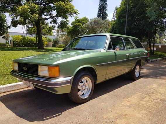 Chevrolet Caravan Comodoro 2.5 1980/1980 Impecável Raridade