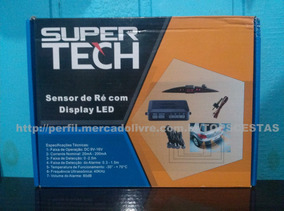 Sensor De Estacionamento Super Tech Com Display Carro