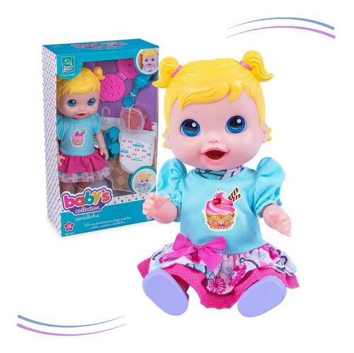 Imagem 1 de 8 de Boneca Baby Comidinha Alive Come E Faz Caquinha - Original