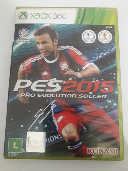 Pes 15 Xbox 360 Original(usado)leia O Anúncio