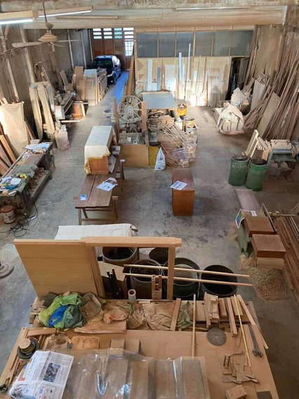 Alquiler Fábrica Galpón De Muebles Con Local Comercial