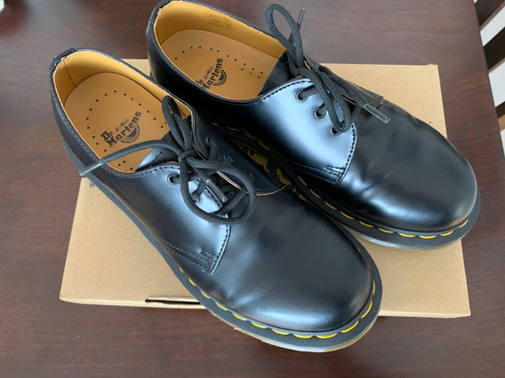 Dr. Martens Zapato Mujer Smooth Negros Talla 39