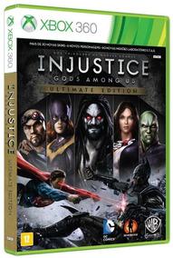 Jogo Injustice Gods Among Us Ultimate Edition Pra Xbox 360