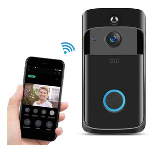 Timbre Seguridad Video Vigilancia Cámara Wifi Smart Home