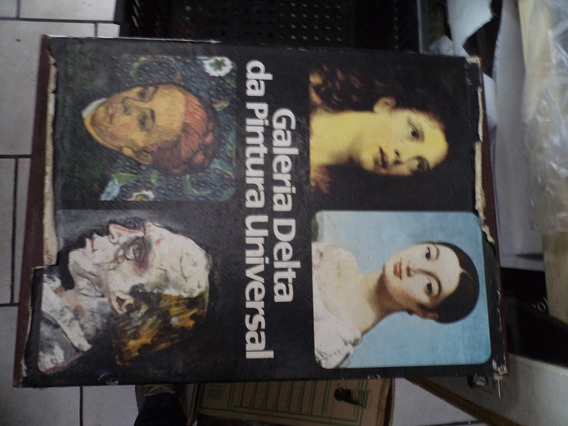 Galeria Delta Da Pintura Universal 2 Volumes Com Box