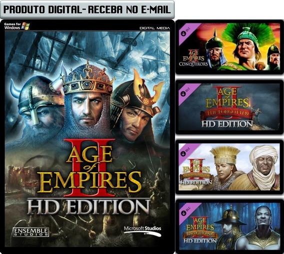 Age Of Empire 2 E Expansões - Legendado - Pc - Envio Digital
