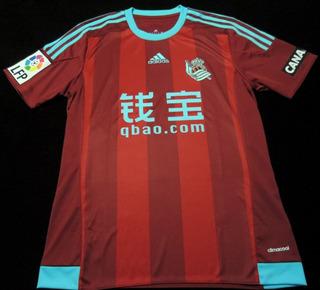 Camisa Real Sociedad Away 2016 Tam. P Original