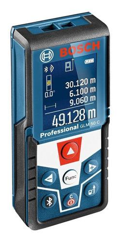 Imagen 1 de 6 de Medidor Laser Distancia Bosch Glm 50 C Bluetooth Cinta Metri Dgm