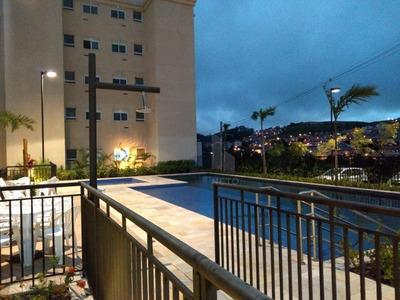 Apartamento Com 2 Dormitórios Para Alugar, 43 M² Por R$ 1.015/mês - Parque São Vicente - Mauá/sp - Ap0263