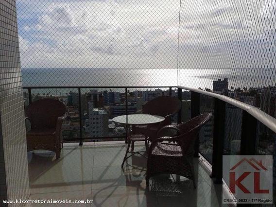 Apartamento Para Venda Em João Pessoa, Cabo Branco, 5 Dormitórios, 4 Suítes, 5 Banheiros, 3 Vagas - Ka 0900_2-967031