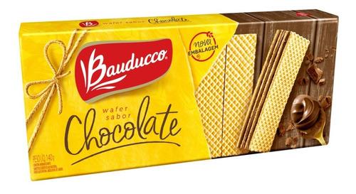Bolacha Wafer De Chocolate Bauducco 140g
