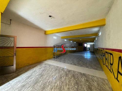 Imagem 1 de 14 de Galpão Para Alugar, 435 M² Por R$ 4.000,00/mês - Vila Prudente - São Paulo/sp - Ga0340