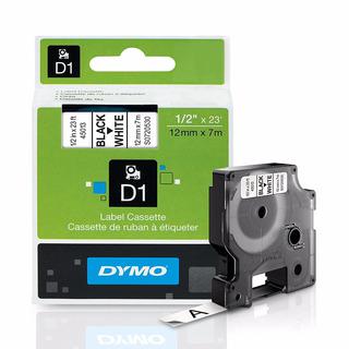 Cinta D1 12mm 45013 Rotuladora Dymo Labelmanager Rhino