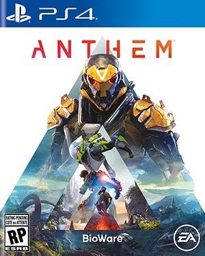 Anthem Ps4 Fisico!!! Nuevo!!!