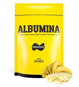Albumina Banana Refil 500g Naturovos