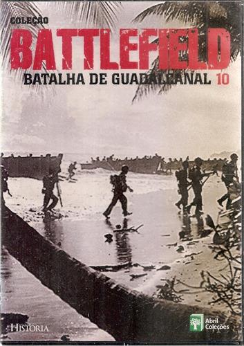 Dvd Coleção Battlefield - Batalha De Guadalcanal 10
