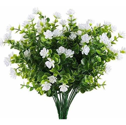 Flores Artificiales De Eucalipto Camelia Plantas De Plã...