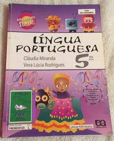 Aprendendo Sempre - Língua Portuguesa - 5º Ano - C. Miranda