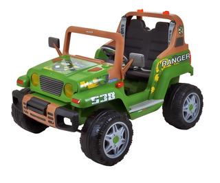 Carro Elétrico Ranger 538 Verde 12 Volts - Peg-pérego