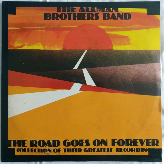 The Allman Brothers Bandthe Road Goes Forever 1976 Lp Vinil
