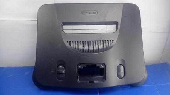 Carcaça Superior Nintendo 64 Sem Nada Dentro - Possui Quina Quebrada Detalhes De Uso