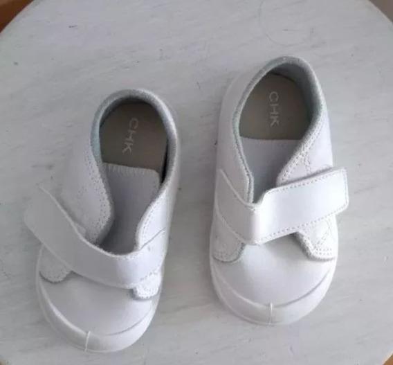 Zapatillas Blancas Cheeky Talle 19