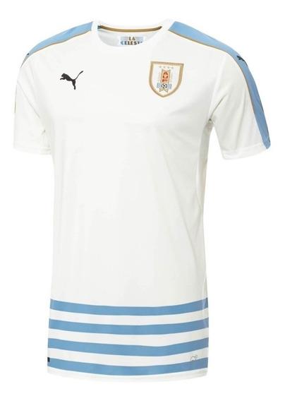 Jersey Original Puma Selección Uruguay Visita 2016-2017
